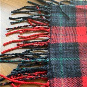 J. Crew plaid scarf NWT